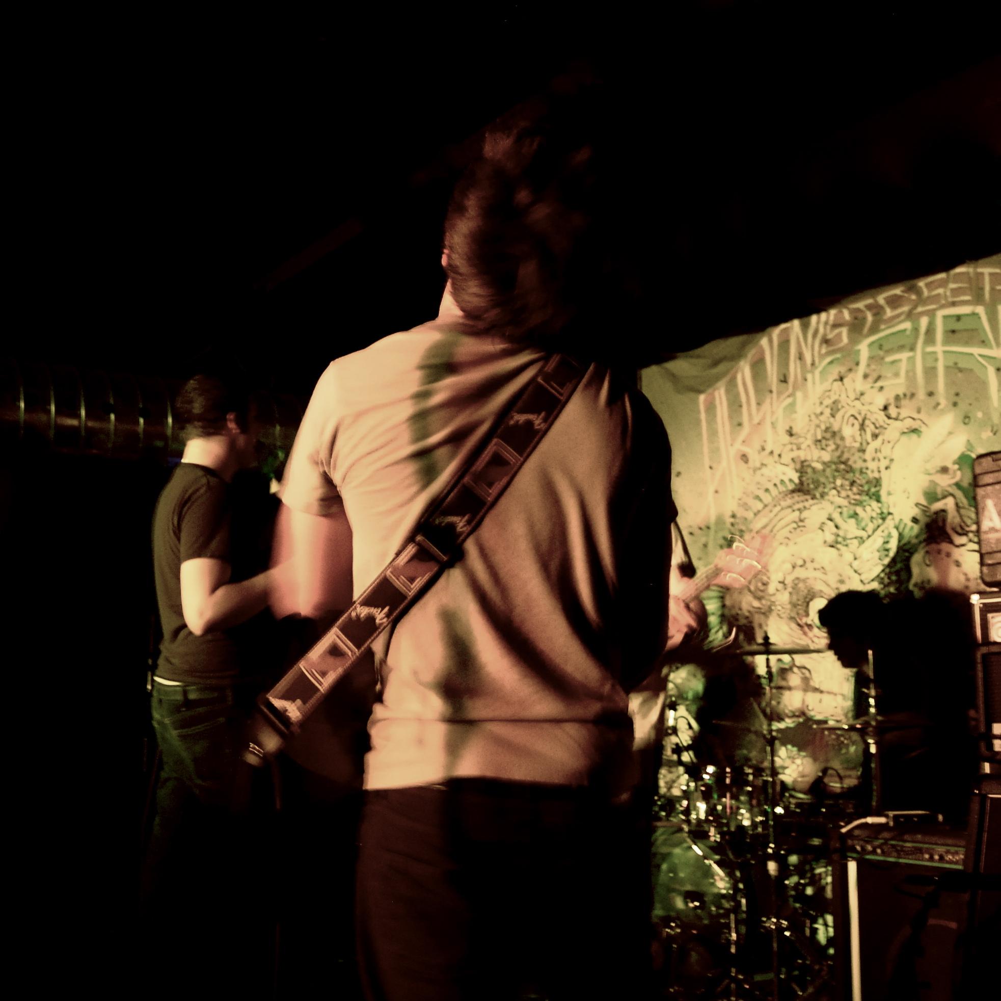 Simon at the Underworld, October 18th 2009. Photo courtesy of Marina Polak