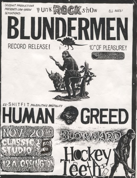 """""""Blunder on Bikini Island"""" release show on November 20th 1993."""