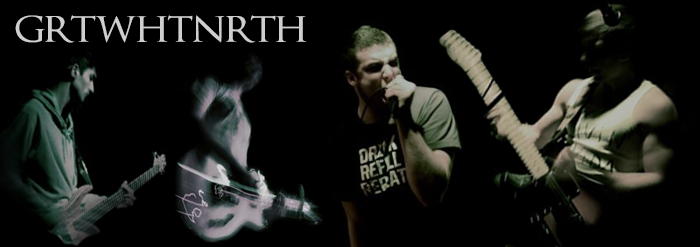 Great White North promotional band picture from the Abridged Pause Recordings website, circa 2010